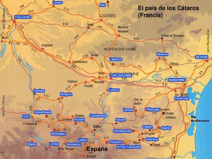 El país de los Cátaros