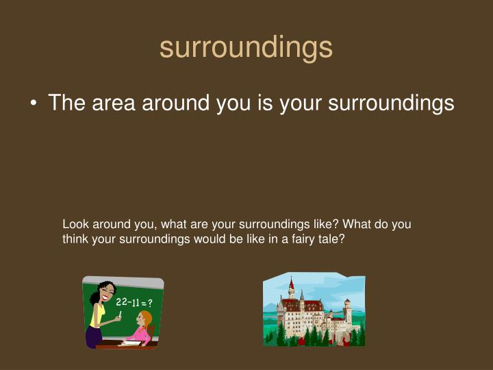 Surroundings