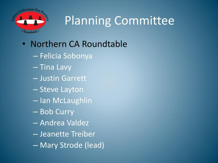 Planning Committee