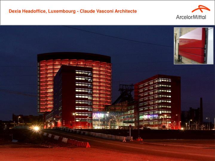 Dexia Headoffice, Luxembourg - Claude Vasconi Architecte