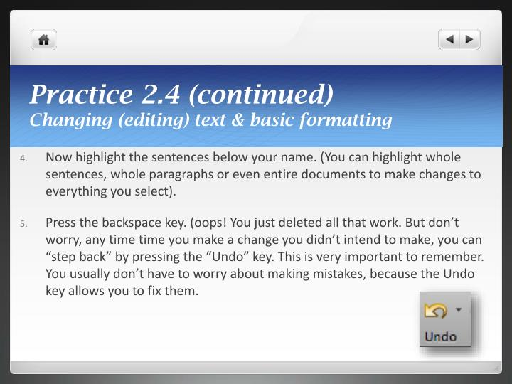 Practice 2.4 (continued)