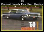 1960 chevrolet impala four door hardtop