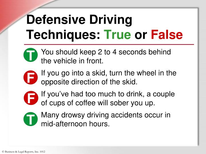 Defensive Driving Techniques: