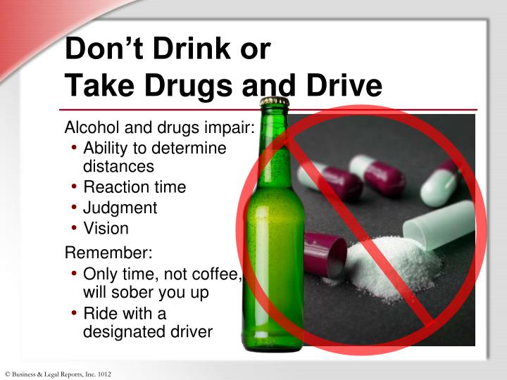 Don't Drink or