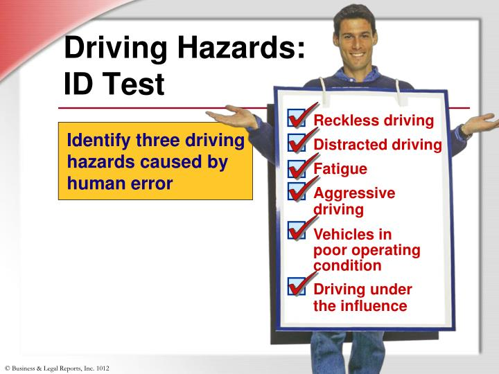 Driving Hazards:
