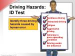 driving hazards id test