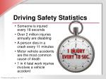 driving safety statistics