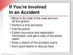 if you re involved in an accident