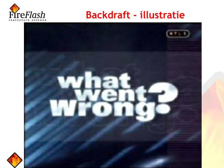 Backdraft - illustratie