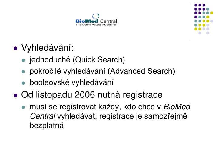 Vyhledávání: