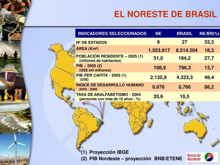 EL NORESTE DE BRASIL