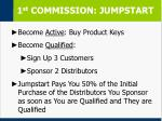 1 st commission jumpstart