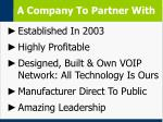 a company to partner with