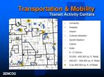 transportation mobility transit activity centers