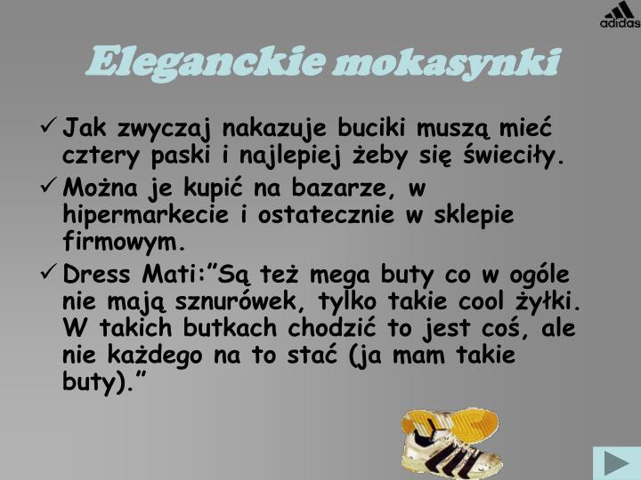 Eleganckie
