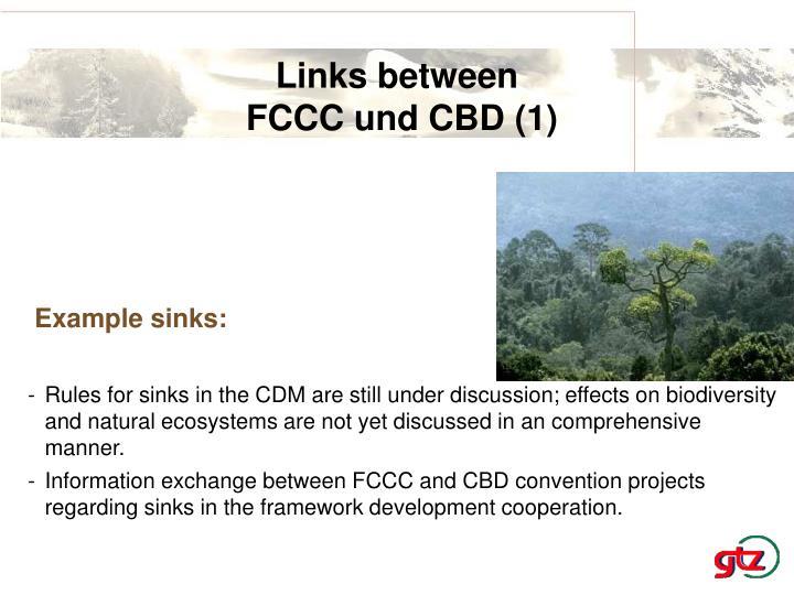 Links between