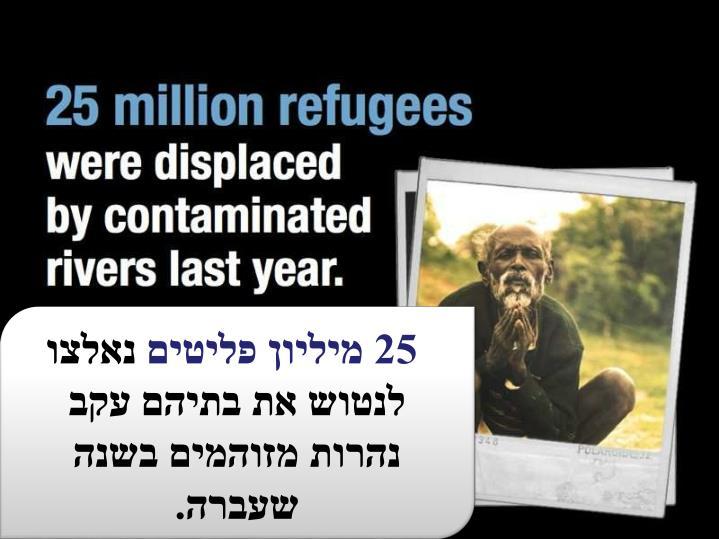 25 מיליון פליטים