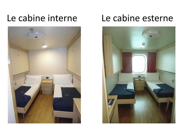 Le cabine interne