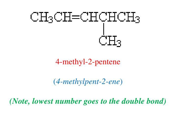 4-methyl-2-pentene