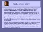 keabetswe s story