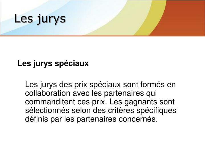 Les jurys spéciaux