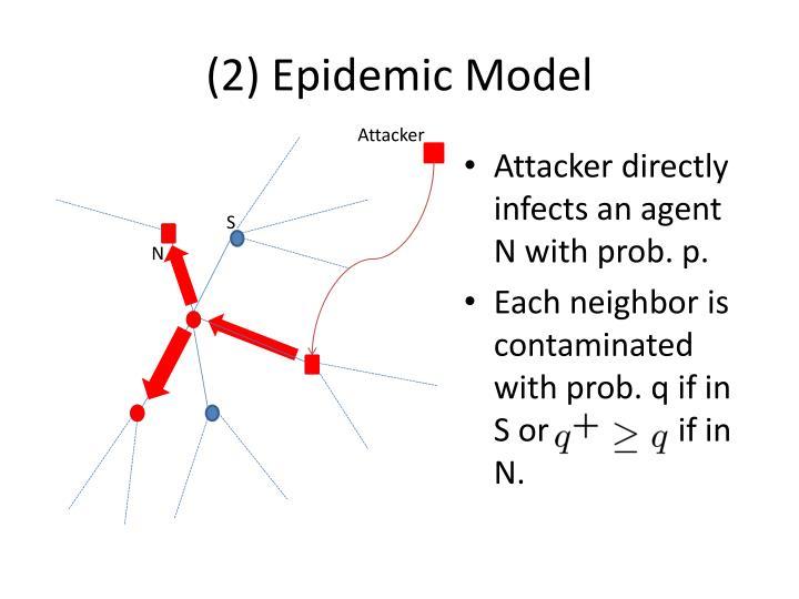 (2) Epidemic Model