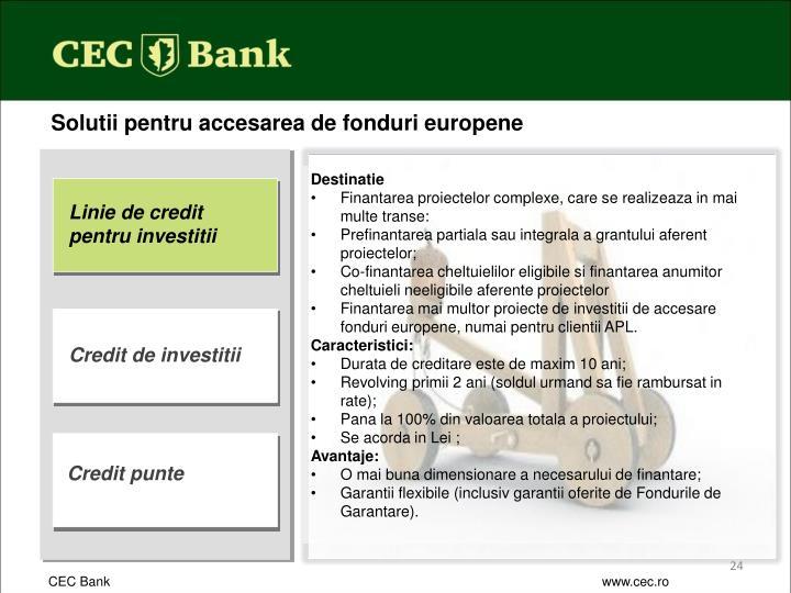 Solutii pentru accesarea de fonduri europene