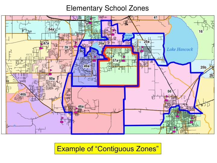 Elementary School Zones