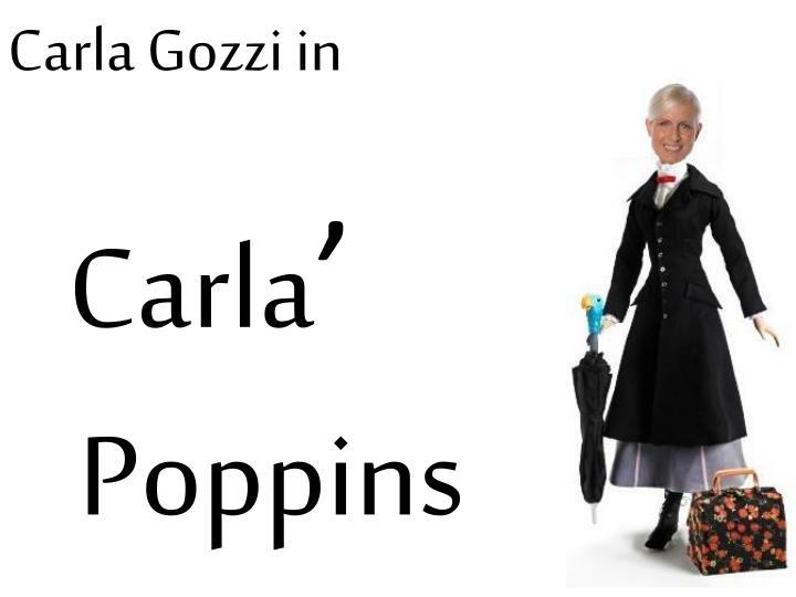 Carla Gozzi in