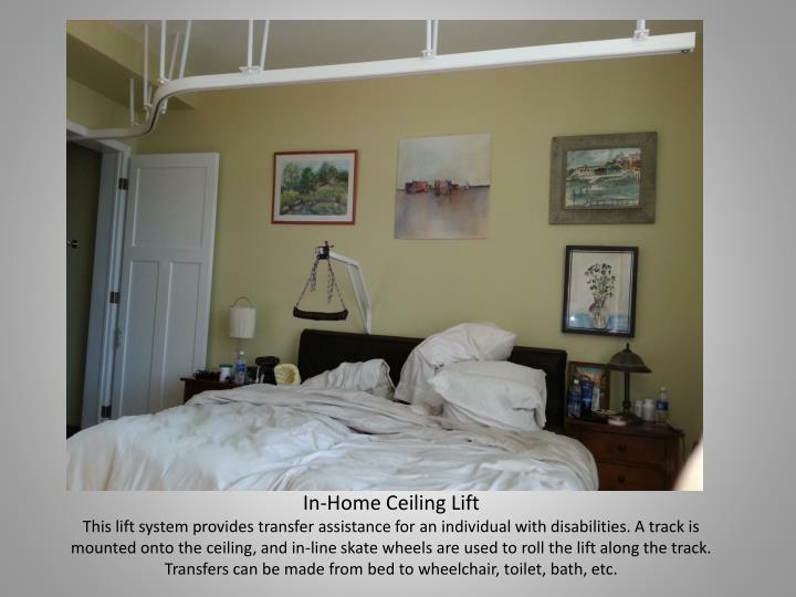 In-Home Ceiling Lift