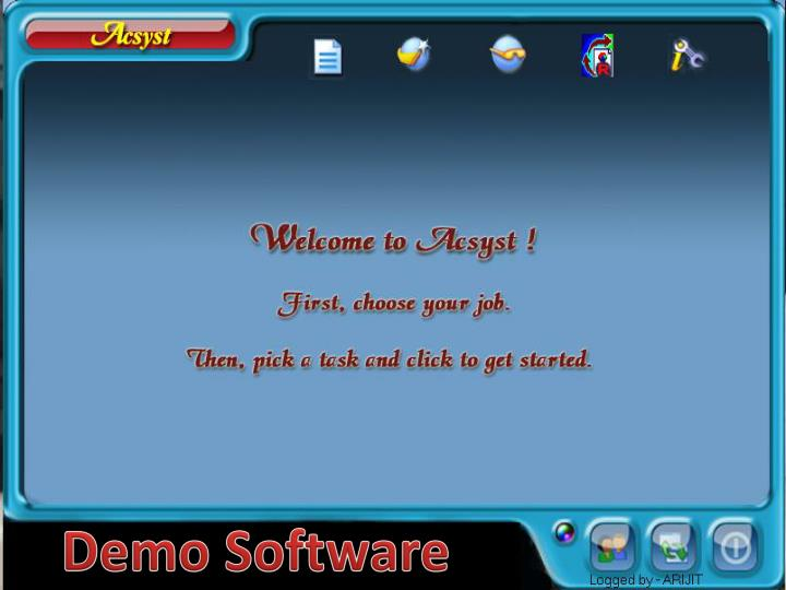 Demo Software
