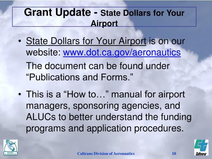 Grant Update -