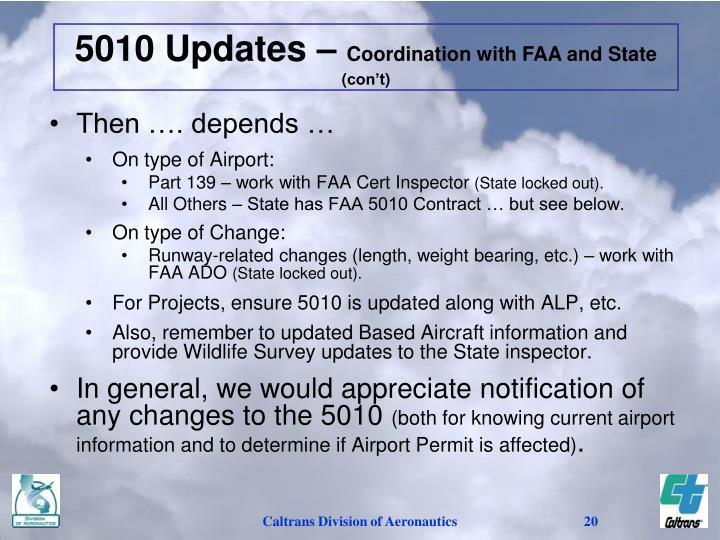 5010 Updates –