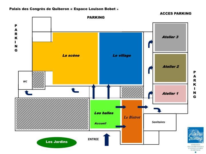 Palais des Congrès de Quiberon «Espace Louison Bobet