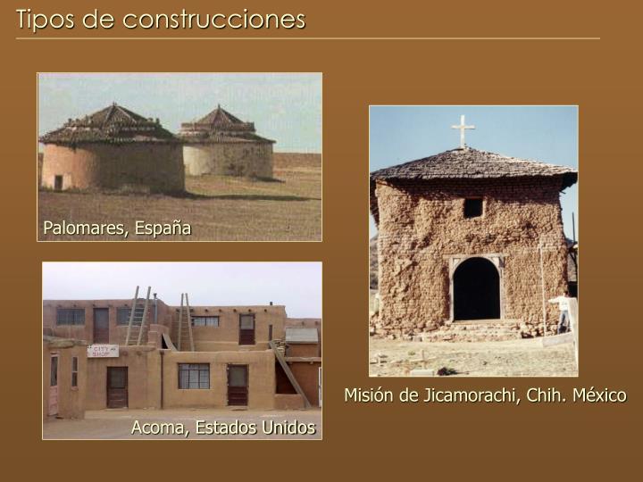 Tipos de construcciones