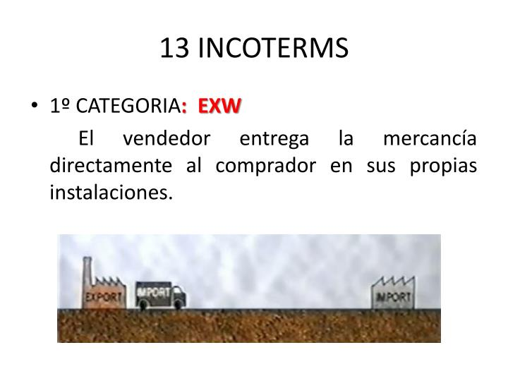 13 INCOTERMS