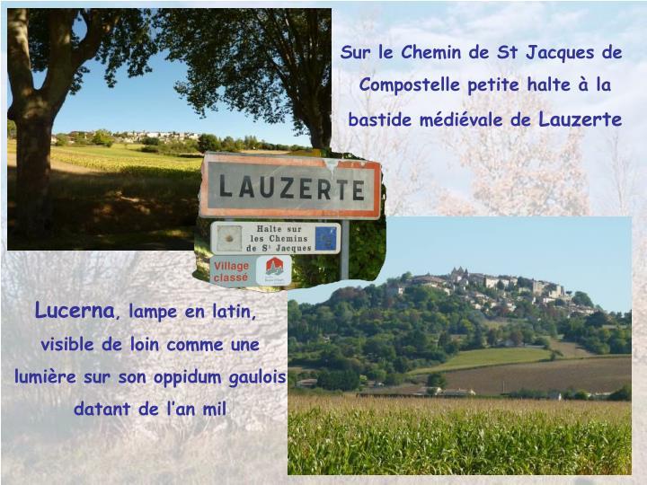 Sur le Chemin de St Jacques de