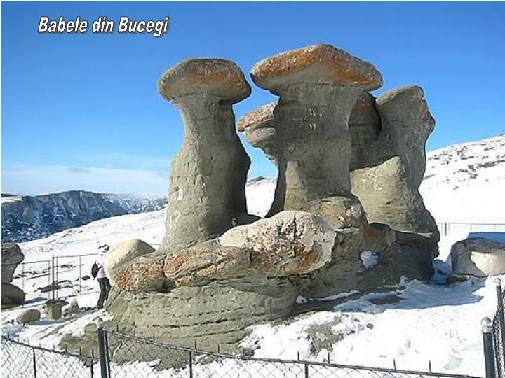 Babele din Bucegi