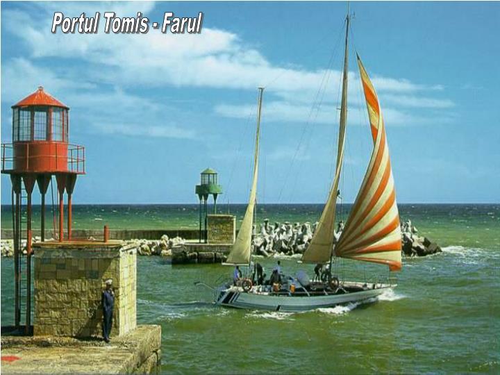 Portul Tomis - Farul