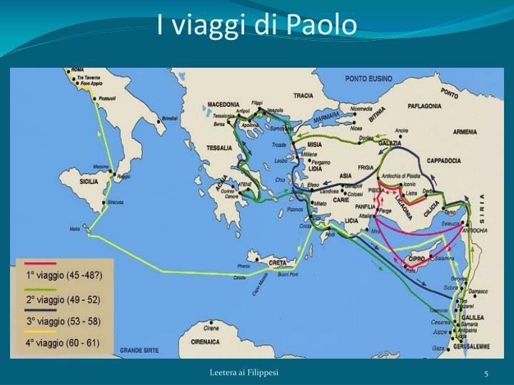 I viaggi di Paolo