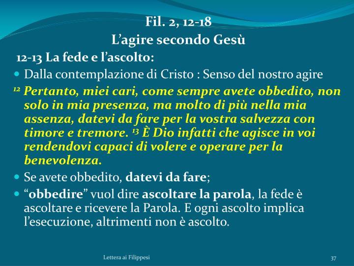Fil. 2, 12-18
