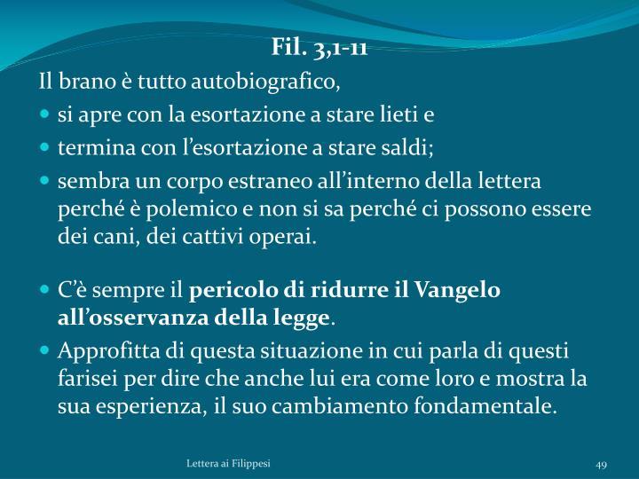 Fil. 3,1-11