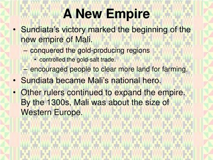 A New Empire