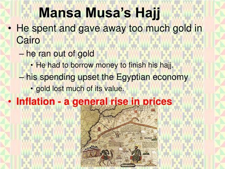 Mansa Musa's Hajj