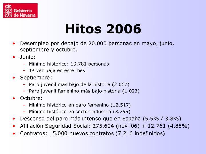 Hitos 2006