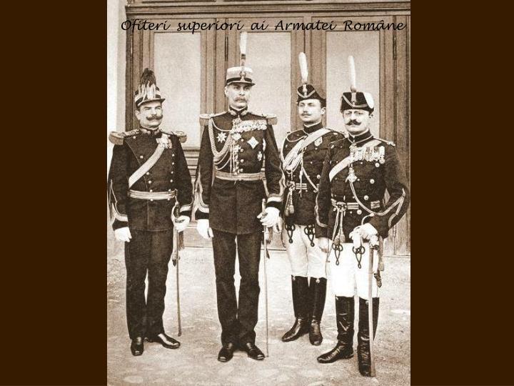 Ofiteri  superiori  ai  Armatei  Române