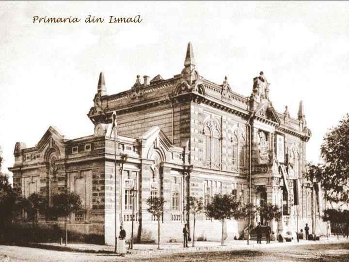 Primaria  din  Ismail