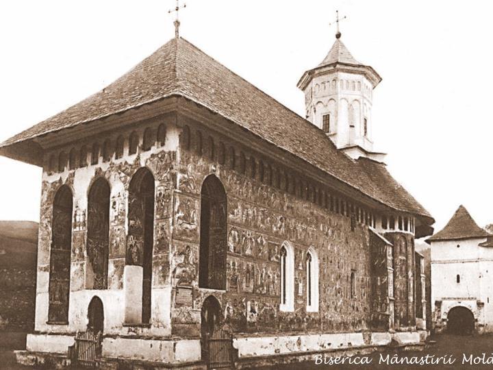 Biserica  Mânastirii  Moldovita