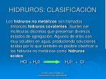 hidruros clasificaci n4