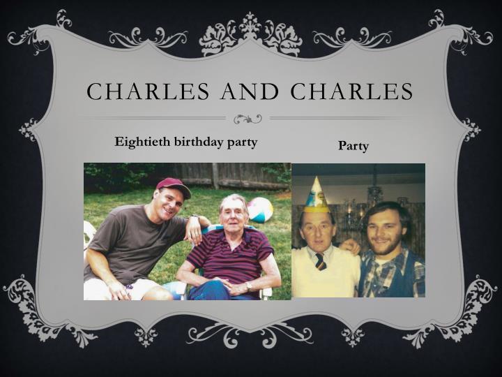 Charles and Charles